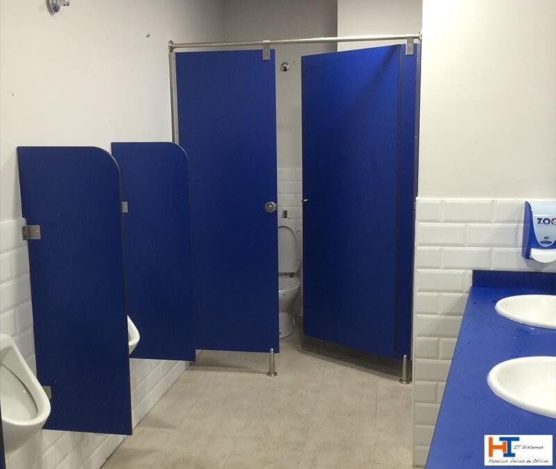 Cabinas sanitarias: una solución ideal para baños y vestuarios