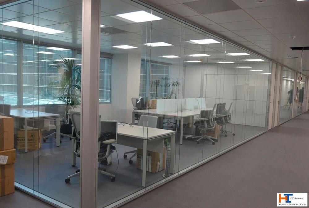 Mamparas de oficina en Valdemoro: una solución para cada necesidad