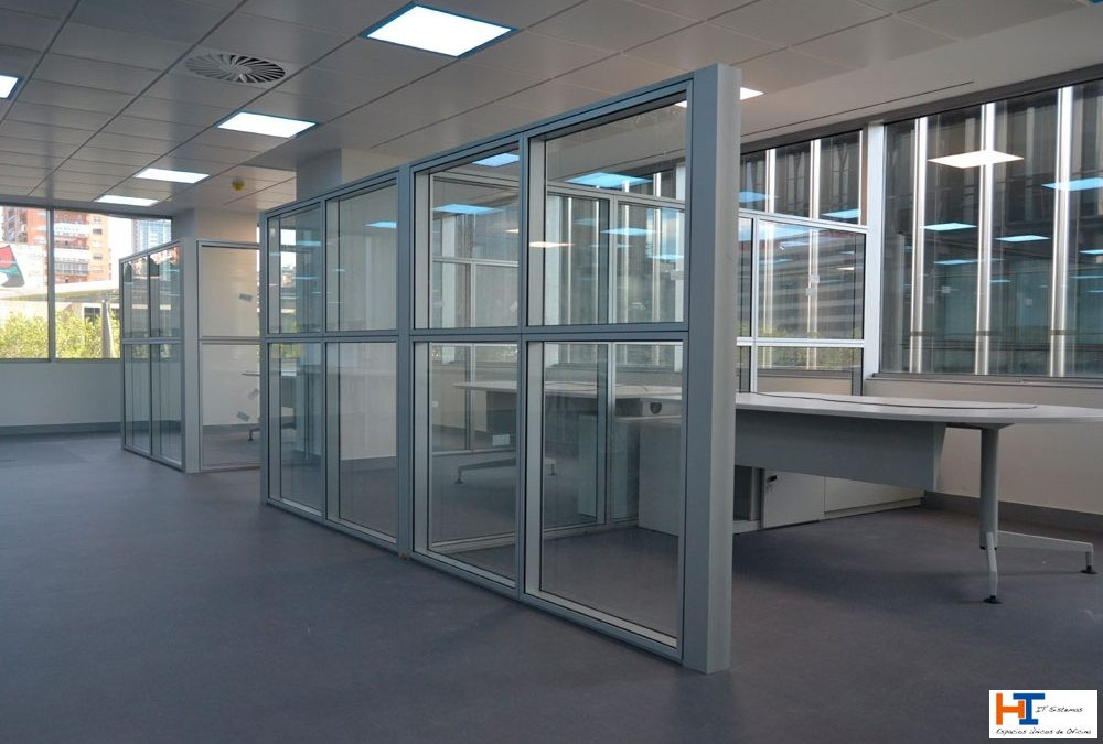 Espacios semiabiertos en las oficinas post-Covid